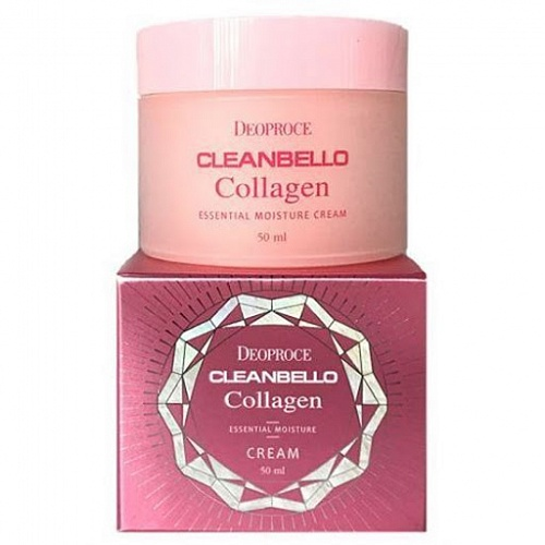Крем для лица с коллагеном Deoproce CLEANBELLO COLLAGEN ESSENTIAL MOISTURE CREAM, 50 ml