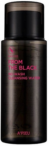 Очищающая вода для очищения кожи A'PIEU From The Black No-Wash Cleansing Water, 250 мл